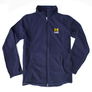NWT University of Michigan Alumni Lands End Fleece